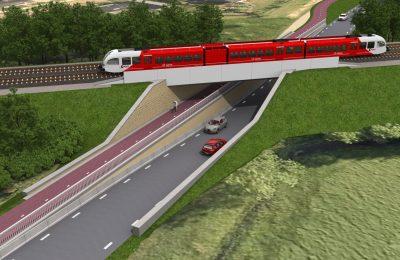 ESGL Viaduct Fanerweg - Zuidhorn