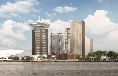 Groutankers verwijderen Y-Towers - Amsterdam